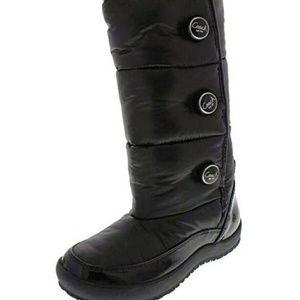 COACH Nylon Puffer Polina Boots